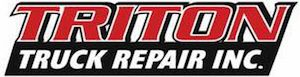 Triton Truck Repair Logo